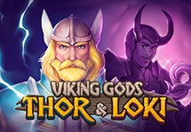 Viking Gods Thor and Loki
